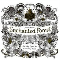 My Style ST 7780 Colouring Book Enchanted Forest