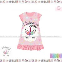 Dress Anak Unicorn Salem 8 - 12 tahun