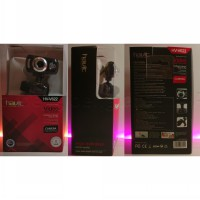 Web Camera HAVIT HV-V622 with LED 8 MP built-in Mic ORIGINAL PRODUCT