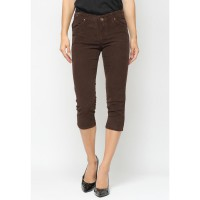 Mobile Power Ladies 7/8 Corduroy Pants - Brown K5710