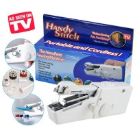 Mesin Jahit Tangan Mini Handy Stitch Portable Handheld Sewing Machine