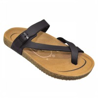 CARVIL SANDAL CASUAL LADIES KHANZA 06 BLACK