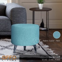 Offo Living - Puff Cilla Fabric Teal