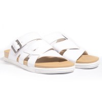 Dr.Kevin Leather Sandals Men 17216 - 2 Colors [ White,Blue ]