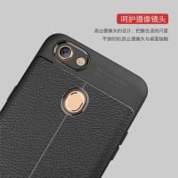 Case Leather Auto Focus Original Oppo F5 Softcase Back Casing Cover