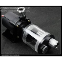 [globalbuy] 60mm cylinder water tank + SC600 pump all-in-one set Maximum flow 600L/H compu/642565