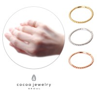 Cocoa Jewelry Cincin Risenemy Rose Gold / Gold / Silver | Material New Brass