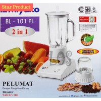 (Blender & Juicer) Miyako Blender 2in1 Plastik 101PL (00091.00001)