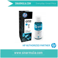 HP GT52 Cyan Original Ink BottleM0H54AA