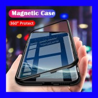 iPhone 7 Plus - Magnetic 360 Bumper Glass Case Casing Cover