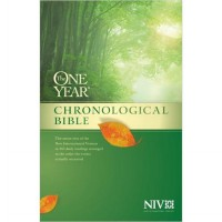 The One Year Chronological Bible NIV (Hardcover)