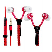 Zipper Earphones with Superior Bass | Headset Zip Ritsleting