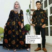 Couple Batik Gamis Remple