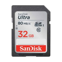 Sandisk Ultra SDHC Class 10 Memory Card [32 GB/80 Mbps]