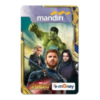 Mandiri e-Money Avengers Infinity War - Captain America Team