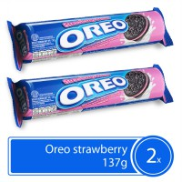 TWIN PACK - Oreo Strawberry Cream 137gr