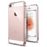 Spigen iPhone SE/5S/5 Case Ultra Hybrid SGP-041CS20172 - Rose Crystal