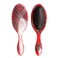 The Wet Brush Holiday Glamour Red Plaid