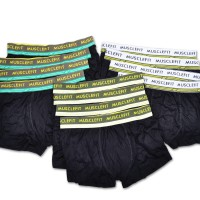 1 Lusin Muscle Fit Boxer MFBX 110 - 12 pcs - Multiwarna