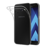 Ultra Thin TPU Soft Case for Samsung Galaxy A5 2017 Casing Cover - Transparan