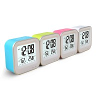 Digital Multifunction Thermometer and Hygrometer with Clock Alarm - JP9909
