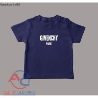 Kaos Anak Givenchy Paris - Aldira Clothing