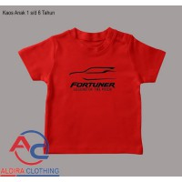 Kaos Anak Fortuner Cars - Aldira Clothing