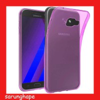 Ultra Thin TPU Soft Case Samsung Galaxy A7 2017 - Pink Casing Cover