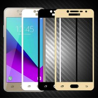 SAMSUNG J5 PRO Tempered Glass Full Cover Color Anti Gores Kaca Warna