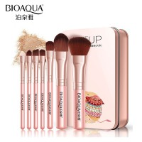 BIOAQUA Make Up Brush 7PCS - Pink