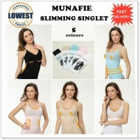 JAPAN MUNAFIE SLIM CLOTH CAMI SHARPER / Munafie Slimming Singlet