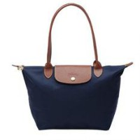 Tas Wanita Authentic Longchamp Le Pliage Classic Medium Longhandle