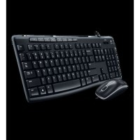 DISKON Keyboard + Mouse combo - Logitech - Keyboard and Mouse MK200