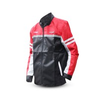 Jaket Motor Honda Ori AHM Bahan Parasut Motor Jacket Safety Riding