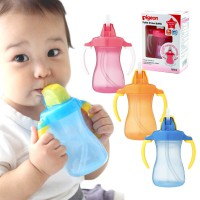 PIGEON PETITE STRAW BOTTLE/ TRAINING CUP