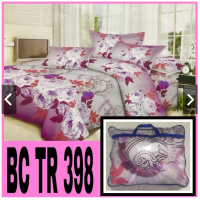 Bedcover set Poly TC King/Queen Size