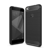 Case iPAKY Soft Carbon Fiber Shockproof For Xiaomi Redmi 4X