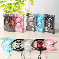 Headphone Handsfree GJBY GJ-06 SuperBass Wired Stereo with Mic