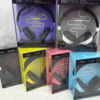 Headphone Handsfree GJBY GJ-08 SuperBass Wired Stereo with Mic