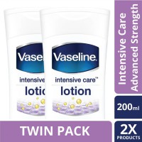 [TWIN PACK] Vaseline Lotion Intensive Care Advanced Strength 200ML