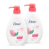 [TWIN PACK] Dove Go Fresh Revive Body Wash Pump 550ML