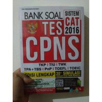 buku bank sola tes  CAT CPNS  2016