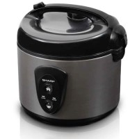 Sharp - Rice Cooker 1.8 Liter Silver KSN18MGSL