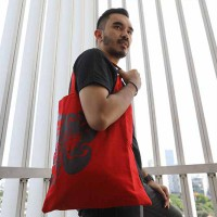 RED Tote Bag Canvas