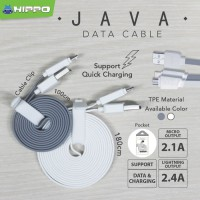 HIPPO JAVA Cable/Kabel Micro USB 100cm QUICK CHARGEDATA Samsung,Xiaom