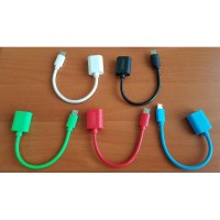SATOO Cable/Kabel OTG USB To Micro USB For Smartphone Android ( ORI )
