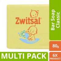 Zwitsal Baby Bar Soap Classic 80Gr - Isi 6