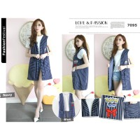 POKE OUTTER VEST - ATPD18019 (High Quality)