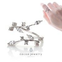 Cocoa Jewelry Cincin Tinker Bell Silver Color