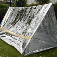 Tenda Emergency Aluminium : Emergency tent emergency shelter Survival Rescue tent Survival tent